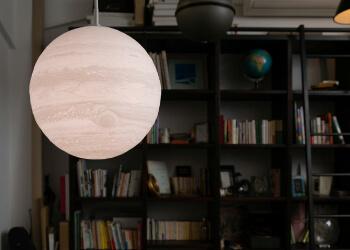 ペンダントライト型月ライト